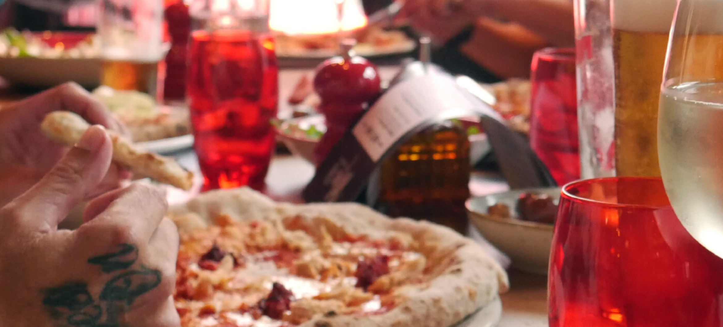 Proud to bring traditionalfresh Neapolitan Pizza to Aberdeen